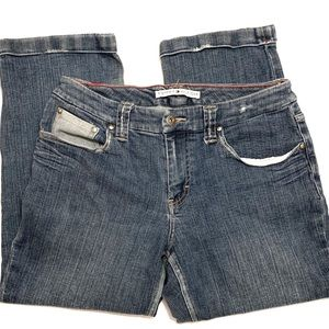 Tommy Hilfiger Jeans - Tommy Hilfiger Cuffed Bottom Capris